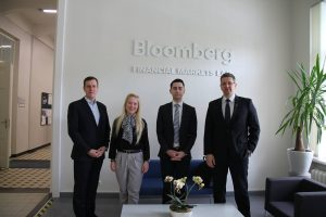 For the student, researcher and businessman – the extensive use of the Bloomberg terminal of the KTU School of Economics and Business